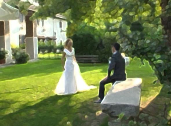 Samanta e Alvarez, oggi sposi 2013
