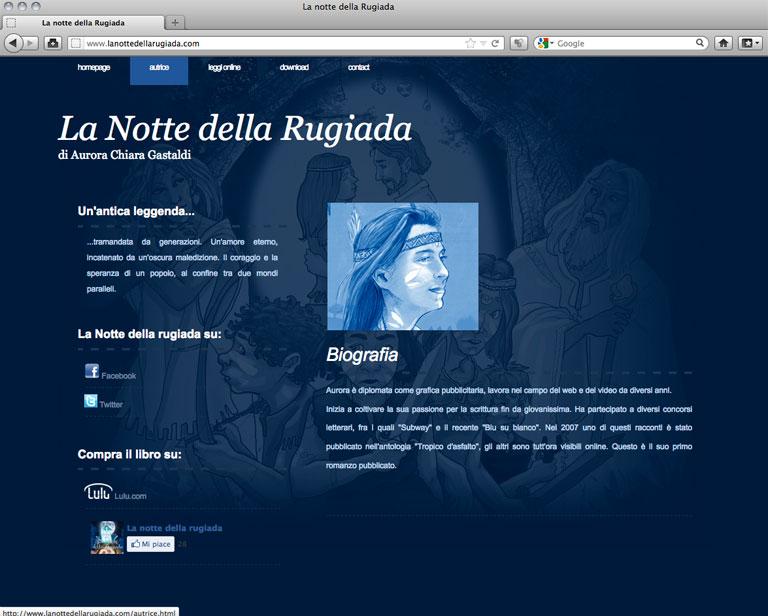 Lanottedellarugiada.com - Biografia - aurorachiara.com
