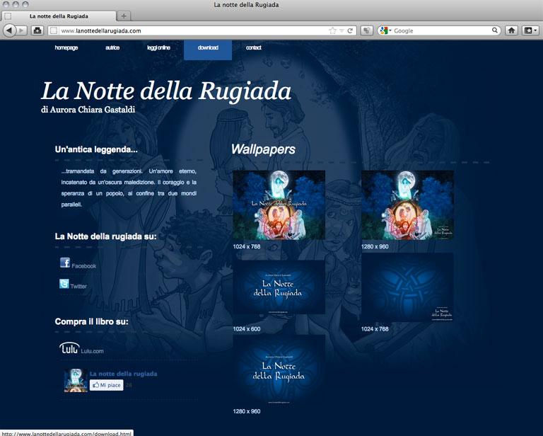 Lanottedellarugiada.com - Wallpapers - aurorachiara.com