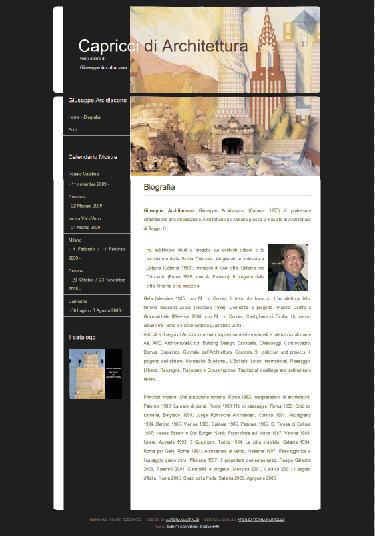 Capricci di architettura - mini siti - aurorachiara.com