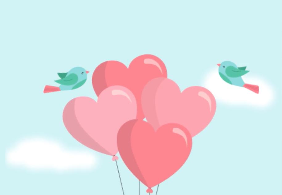 Animazione per post Fb S.Valentino