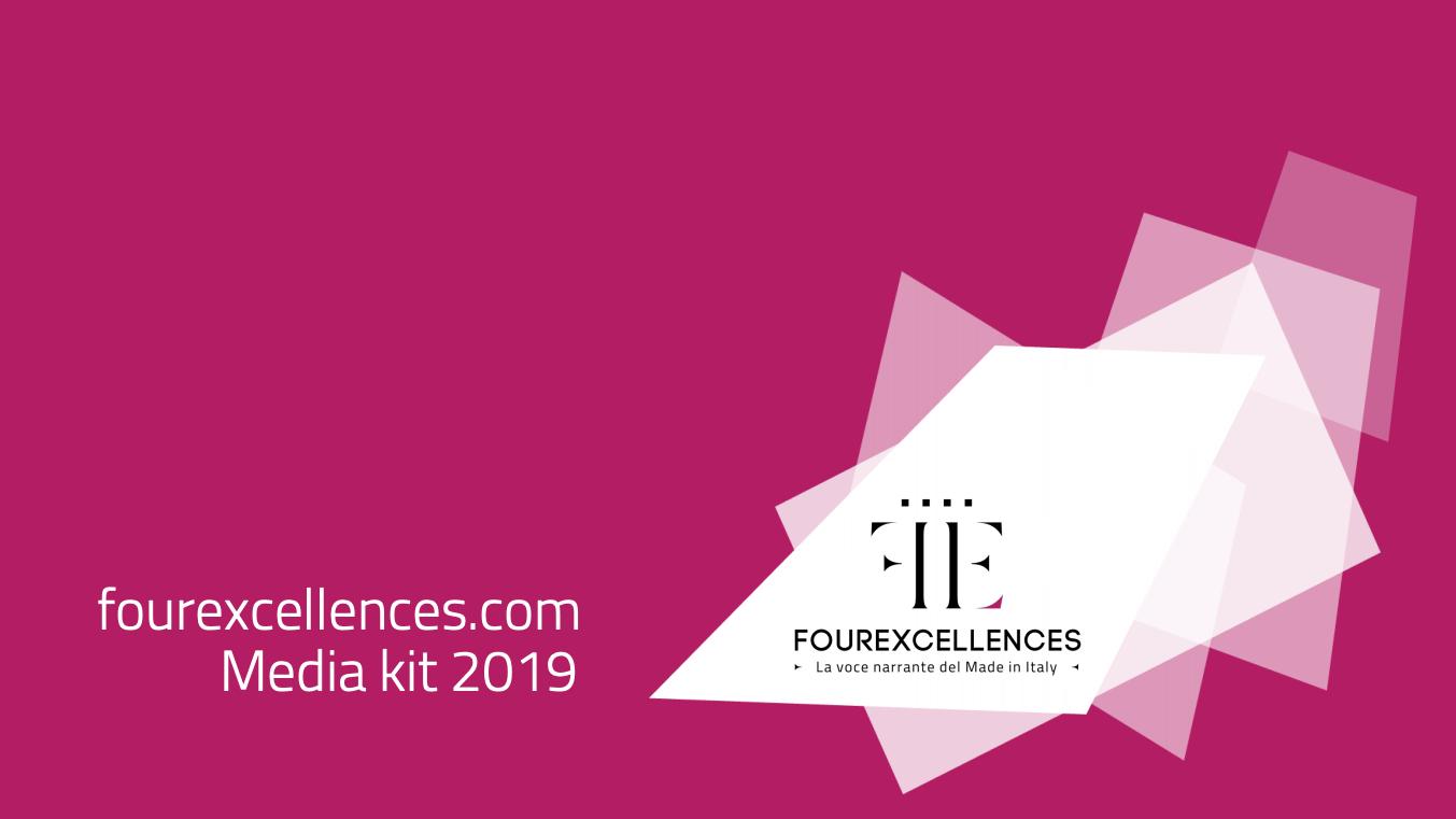 Mediakit 2019 FourExcellences - www.fourexcellences.com - aurorachiara.com